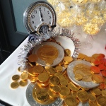 NYE Gold coins