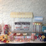 Colourful Confirmation: candy table